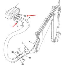 ADAPTOR G3/8A-3/4UNF(M)