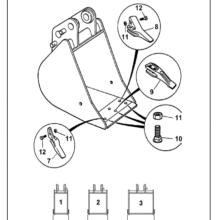 BUCKET (230MM) 802