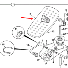 AUXILIARY PEDAL m/cd
