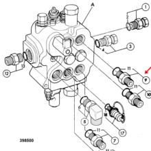 ADAPTOR G1/2A-7/8UNF(M)