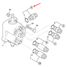 ADAPTOR G5/8A-7/8UNF(M)