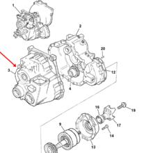 CASE - REAR MACHINING SS700 4WD