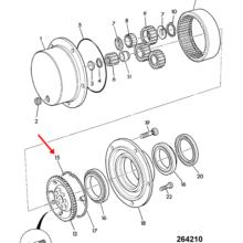 INT CIRCLIP  CD3022