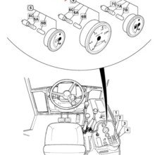 GAUGE tacho/hourmeter 12v  LV (Insource)