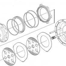 Спирачен диск метален за NEW HOLLAND 115