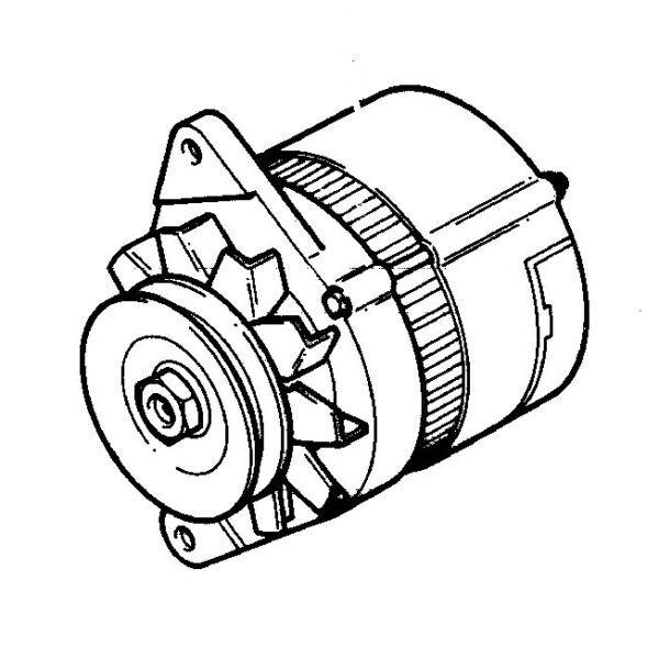 Алтернатор (динамо) за CLAAS