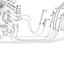 Хидравличен маркуч за NEW HOLLAND 115