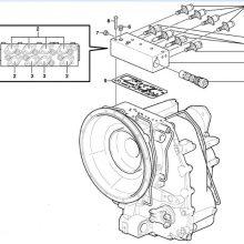 Клапан скоростна кутия за JCB 1CX