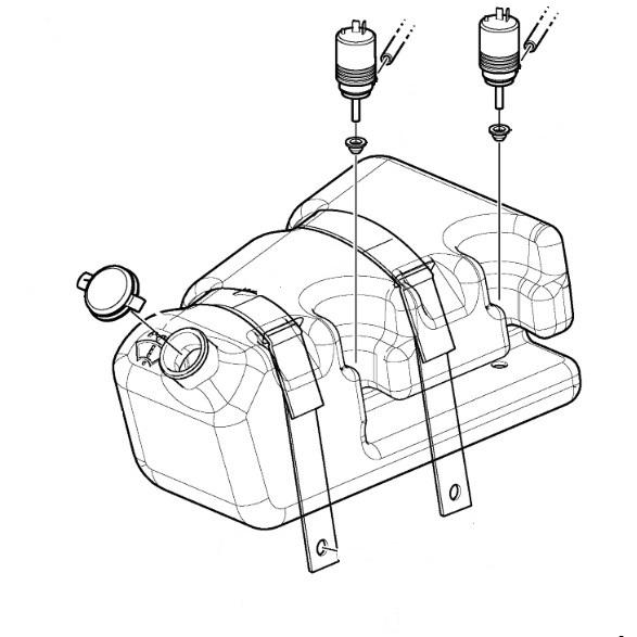 Помпичка (моторче) пръскалка за NEW HOLLAND 115
