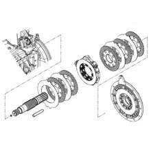 Вал спирачни дискове за CLAAS