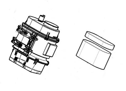 Въздушен филтър голям за CLAAS