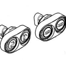 Бутони на калника за навеса за CLAAS