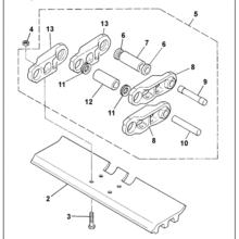 Chain track assemb