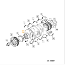 CRANKSHAFT MACHINING 132(444 T4) 4000340